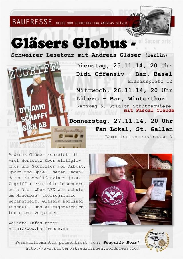 Gläser Lesetour 2014