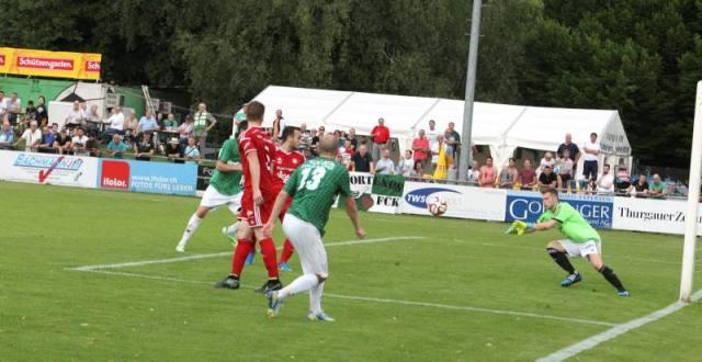 FC Kreuzlingen (Gruenweiss) gegen FC Amriswil auf der Sportanlage Hafenfeld Kreuzlingen am Samstag 6. Juni 2015 (FOTO GACCIOLI KREUZLINGEN)