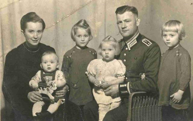 Familie Ott September 1942