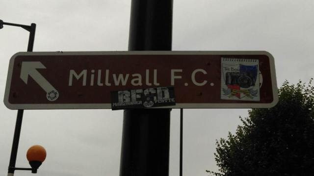 Millwall BFC Two Men in search of the beautiful Game