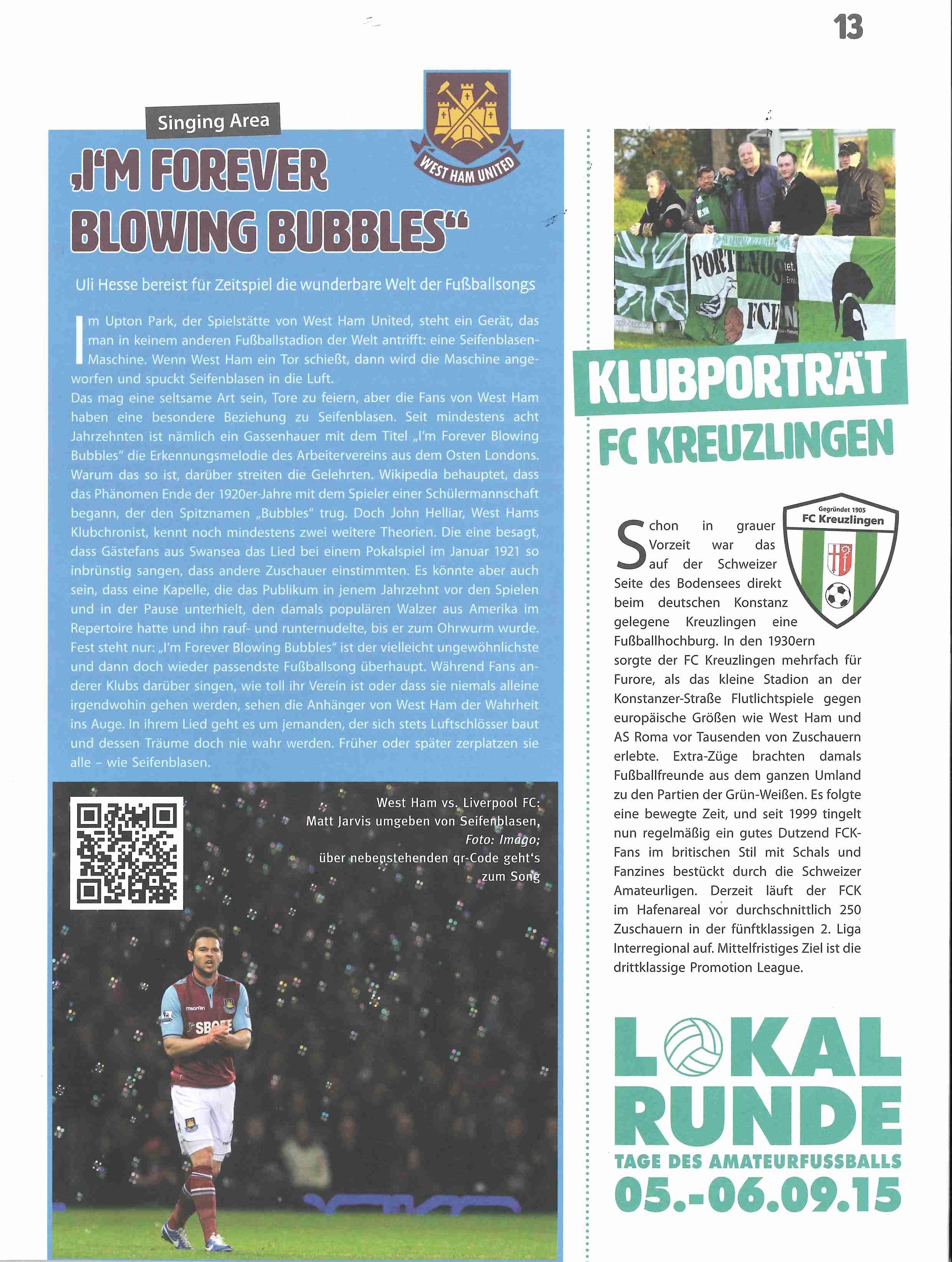 PORTEÑOS 2013 – The Seagulls Roar! | Fanklub und Fussballkultur beim ...