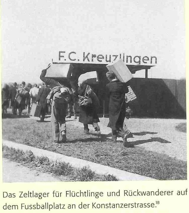 Grenzland-Stadion April 1946